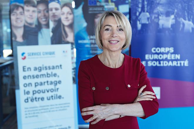 3 questions à Béatrice Angrand, présidente de l'Agence du Service Civique